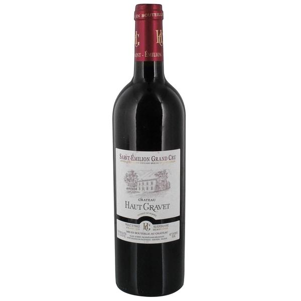 Chateau Haut Gravet Bordeaux SaintÉmilion Grand Cru Rotweincuvée 13,5% 0,75l