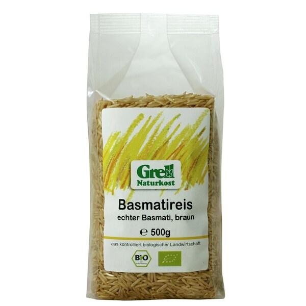Grell Bio echter Basmatireis braun 500g