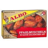 ALBO Pfahlmuscheln in galizischer Sauce 70g