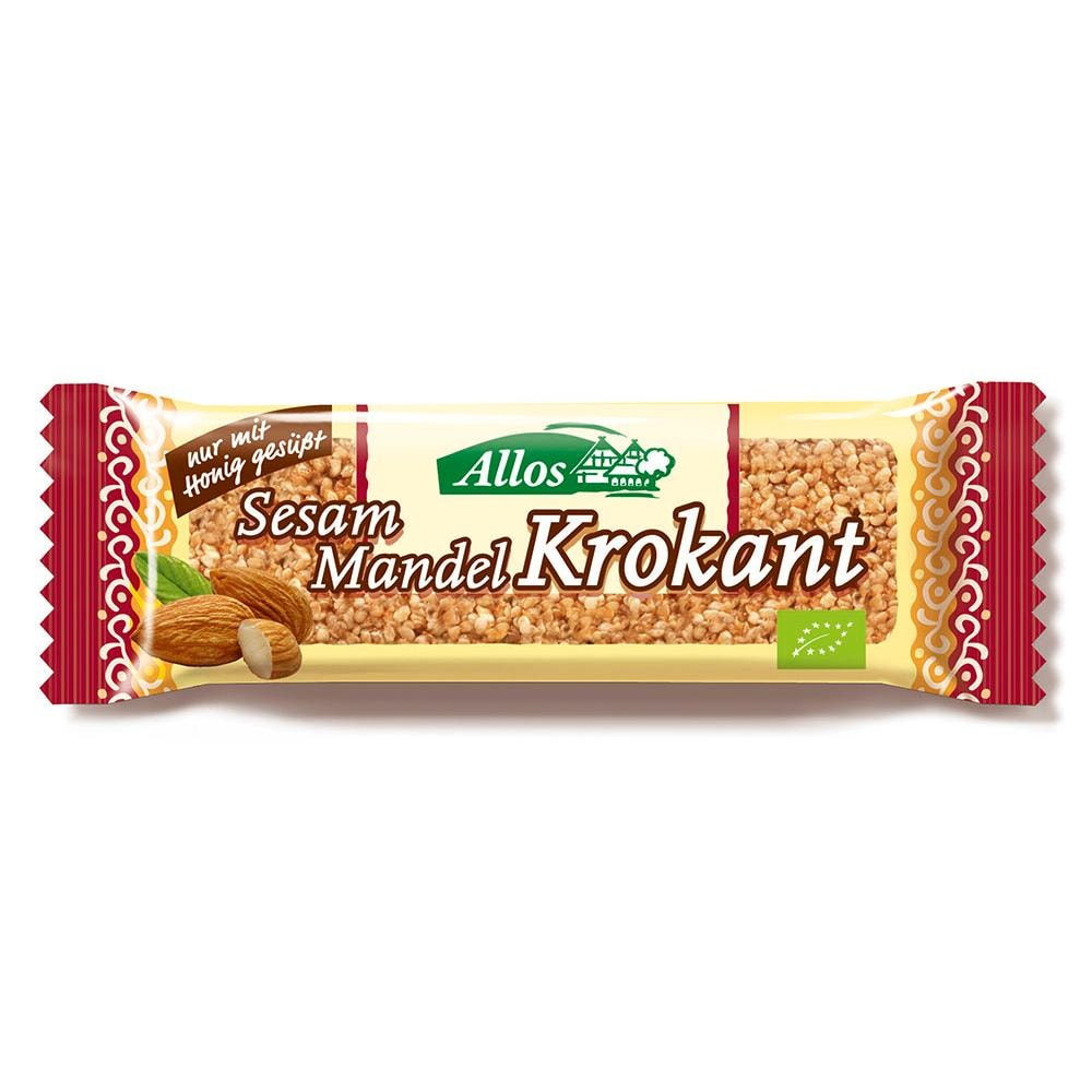 Allos Bio Sesam-Mandel-Krokant-Riegel 30g