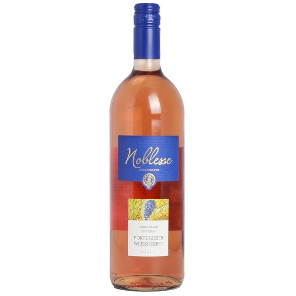 Noblesse Portugieser Weißherbst Roséwein lieblich 10,5% 1,0l