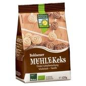 Bohlsener Mühle Mühlekeks Dinkel Gebäckmischung Schokolade Vanille Bio 125g