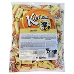 Kuhbonbon - Classic Weichkaramellbonbons Karamellen Süßware - 1kg