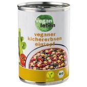 Vegan Leben Bio Kichererbseneintopf 400g