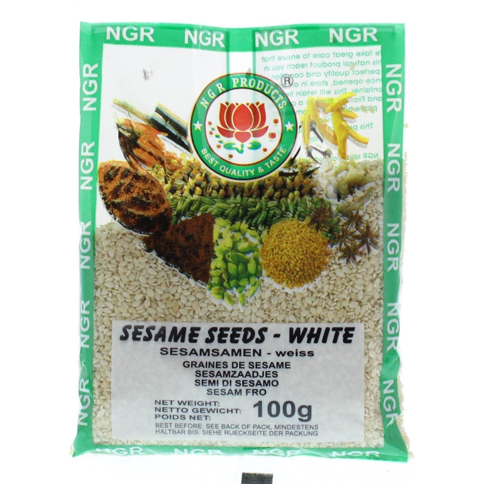 NGR Products - Sesamsamen weiß - 100g