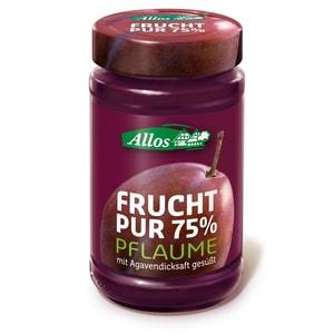 Allos Bio Frucht Pur 75% Pflaume Fruchtaufstrich 250g