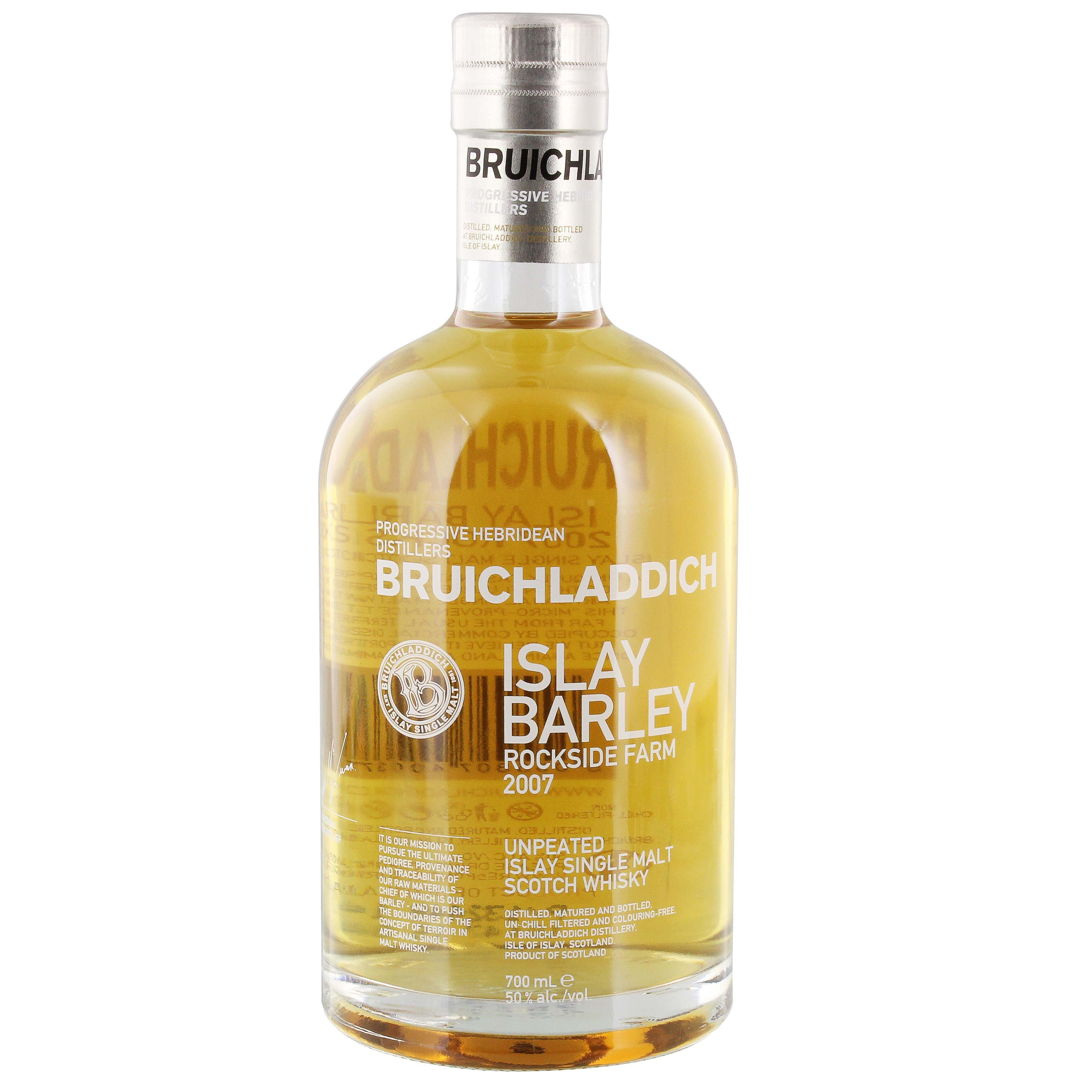 Bruichladdich Islay Barley Unpeated Single Malt Scotch Whisky 0,7l