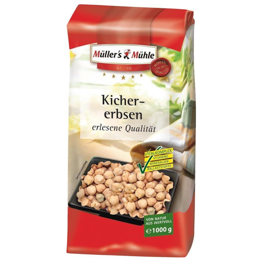 Müller's Mühle - Kichererbsen - 1000g