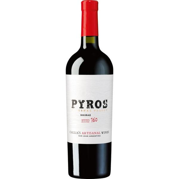 Pyros Barrel Selected Shiraz Rotwein trocken 14% 0,75l