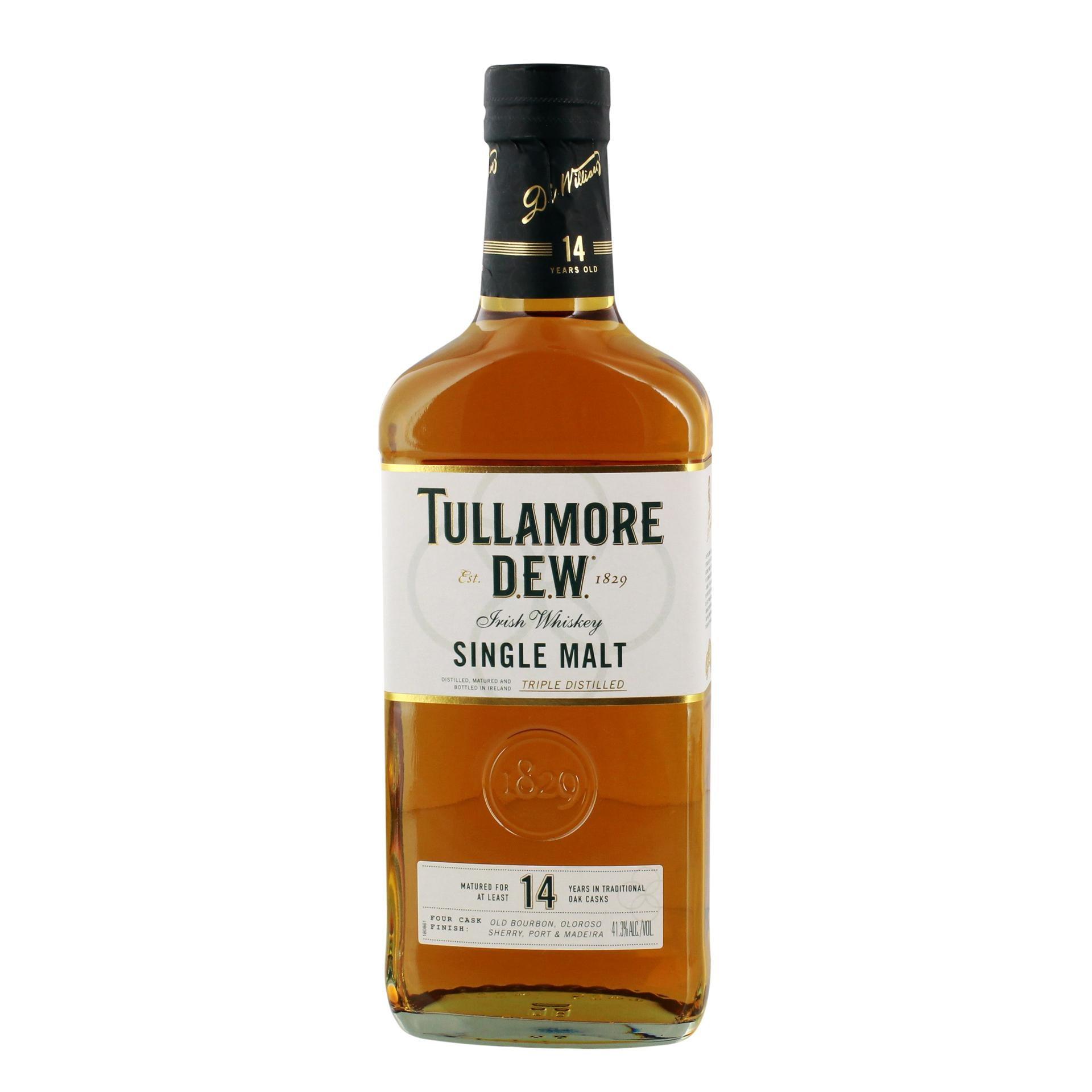 Tullamore Dew Irish Whiskey Single Malt Aged 14 Jahre 0,7l