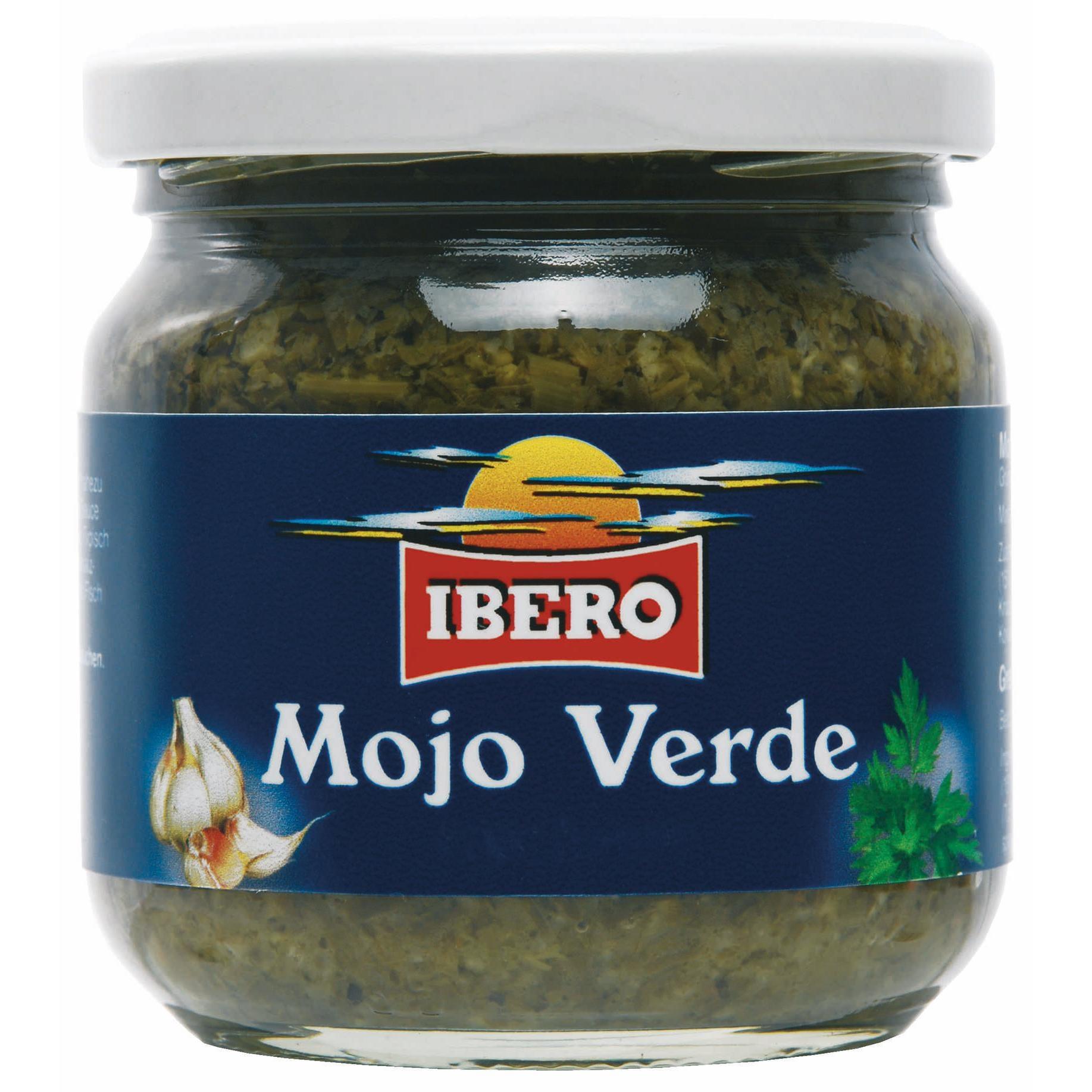 Ibero Mojo Verde Grüne Gewürzsauce 185ml