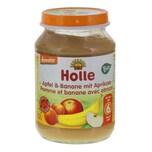 Holle - Apfel & Banane mit Aprikose Bio Babynahrung - 190g
