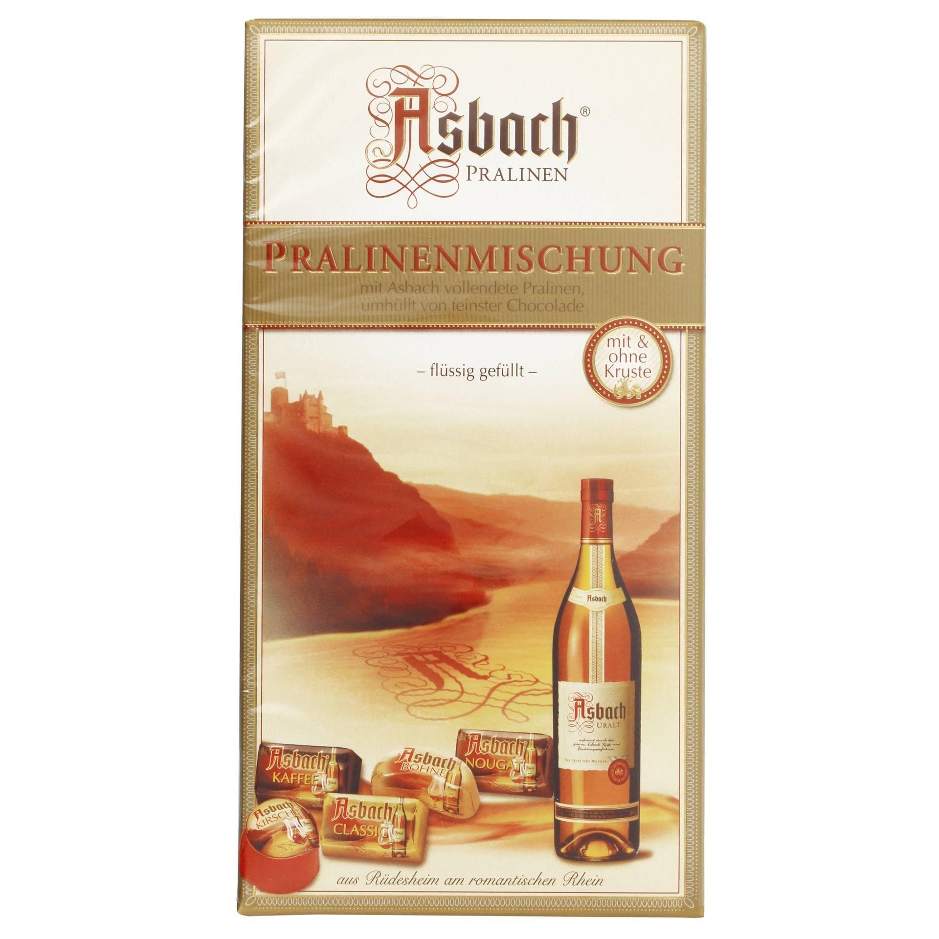 Asbach Pralinenmischung Schokolade 12St/125g
