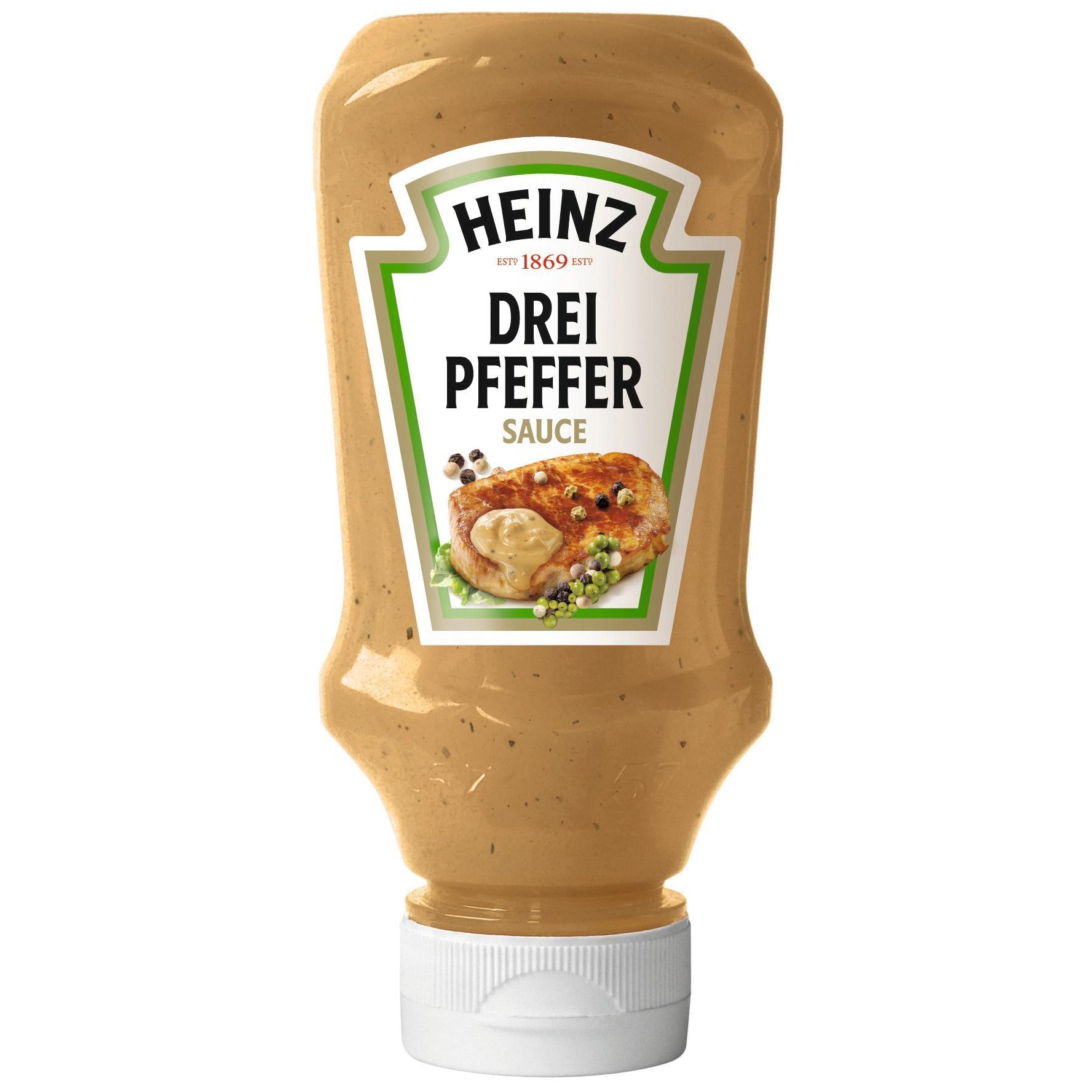 Heinz - Drei Pfeffer Sauce - 220ml