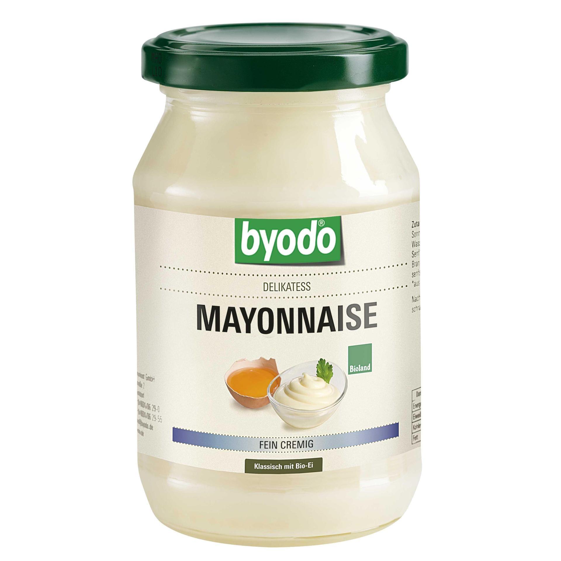 Byodo Bio Delikatess Mayonnaise 250ml