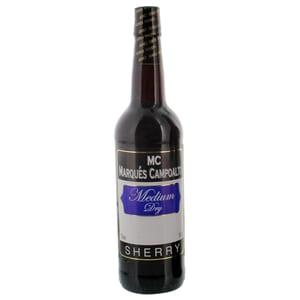 Marqués Campoalto Sherry Medium Dry 15% 0,75l