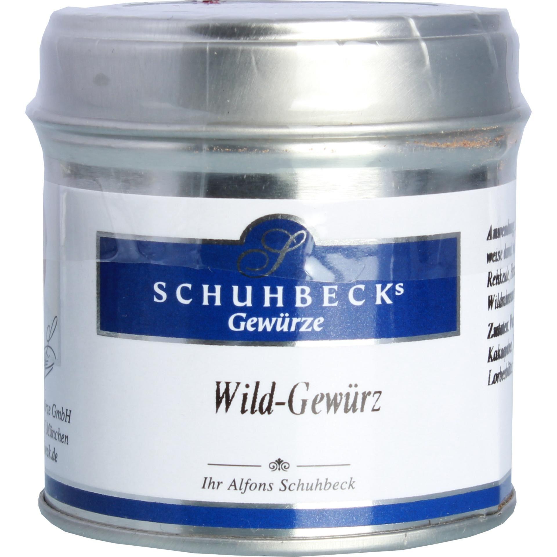 Schuhbecks - Wild Gewürzzubereitung - 45g