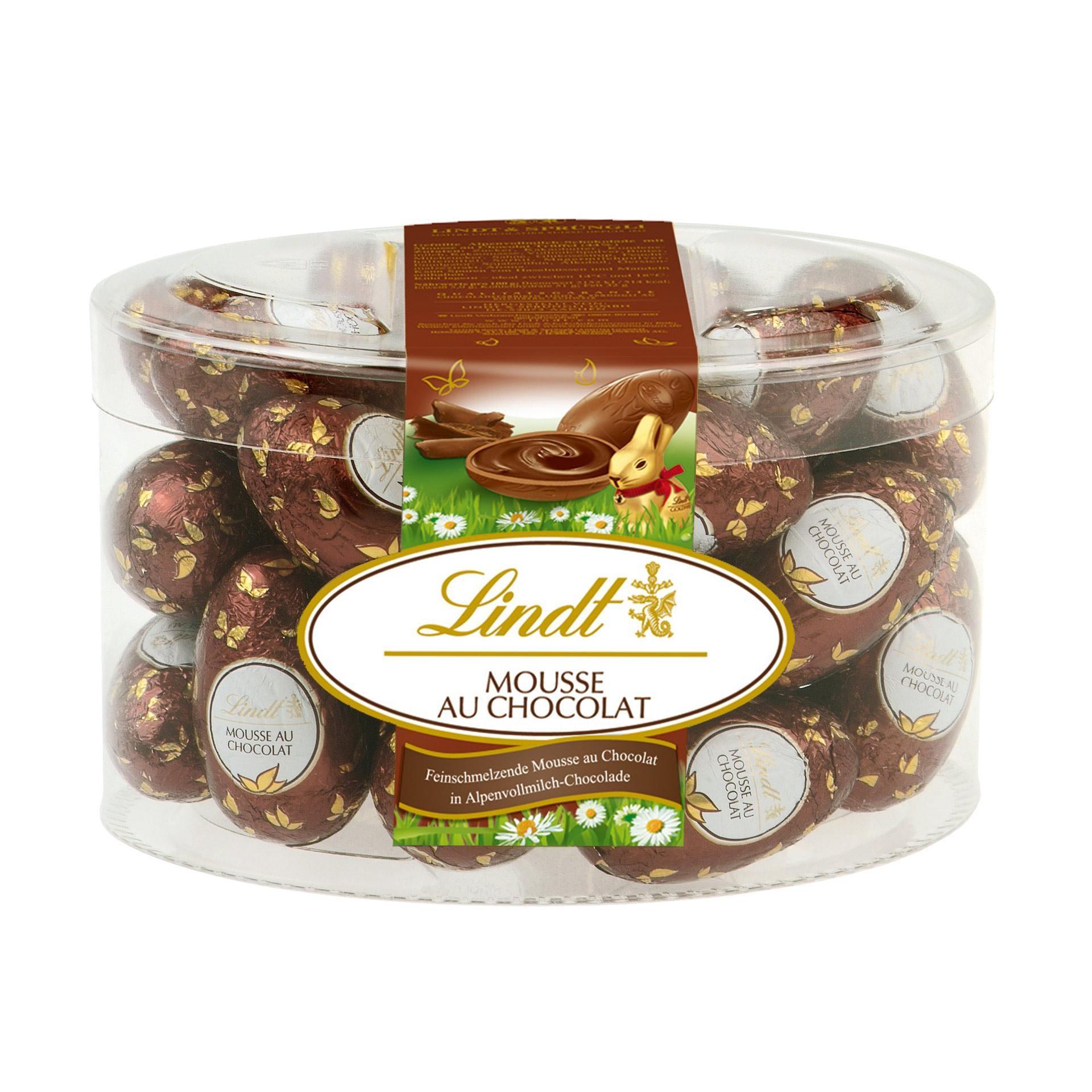 Lindt Mousse au Chocolat Trüffel-Eier 450g, 25 Stück