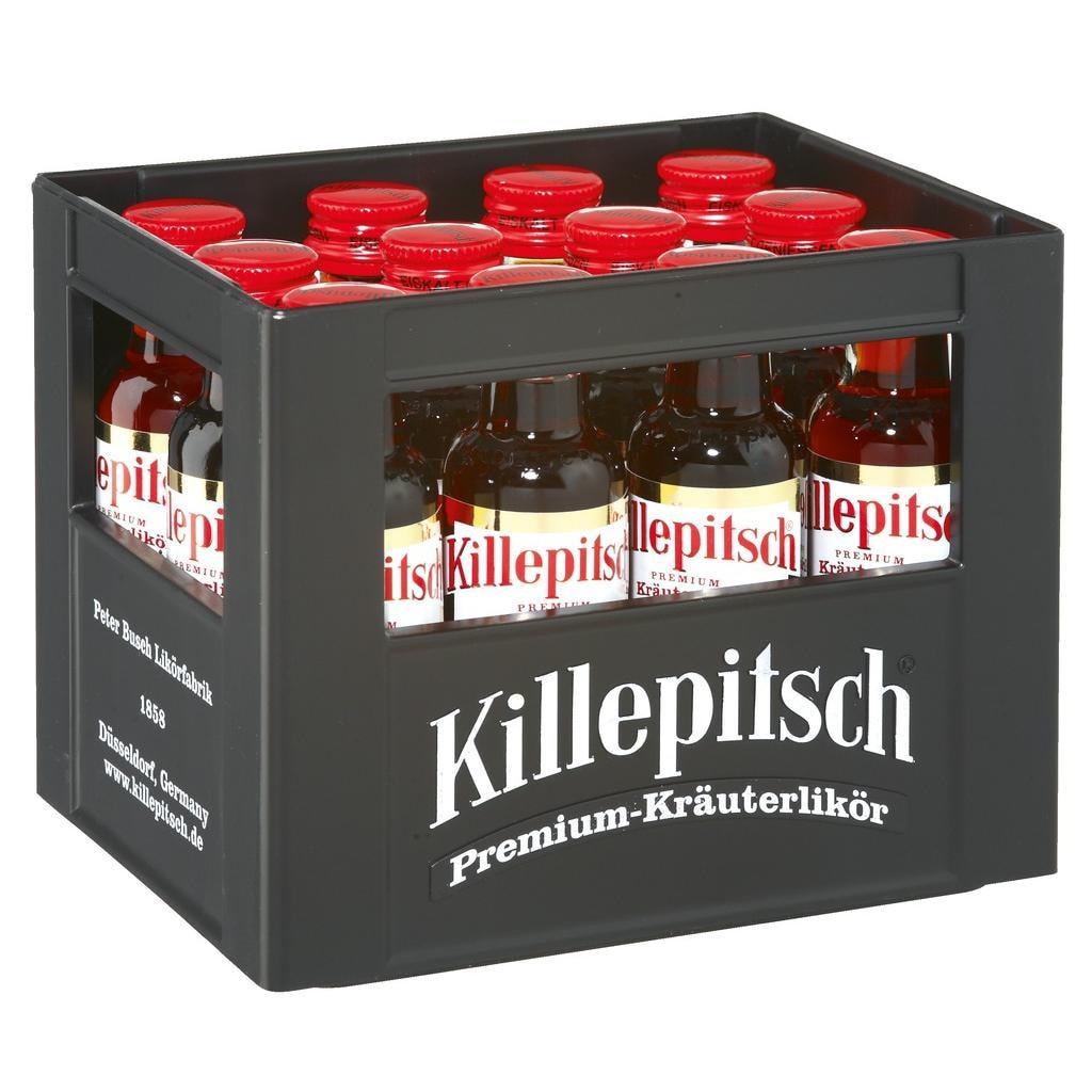 Killepitsch Minikasten Premium Kräuterlikör 12x0,02l