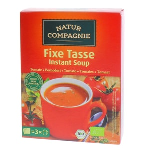 Natur Compagnie Bio Fixe Tasse Instant Soup Tomatensuppe 60g