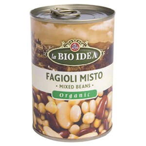 La Bio Idea Bio Fagioli Misto Bohnen-Mix Bohnensalat italienisch 240g