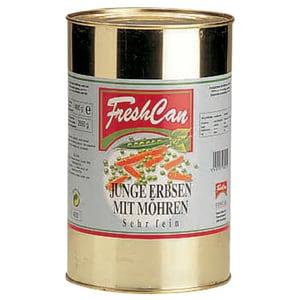 FreshCan Junge Erbsen mit Möhren Sehr fein 2,65kg/4kg