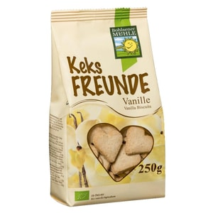 Bohlsener Mühle Bio Keks-Freunde Vanille 250g