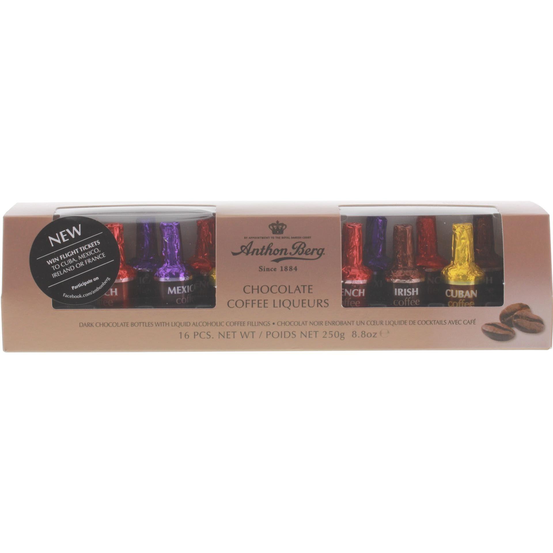 Anthon Berg - Chocolate Coffee Liqueurs Pralinés - 16St/250g