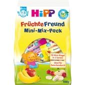 Hipp Bio Früchte Freund Mini-Mix-Pack Fruchtriegel 100g