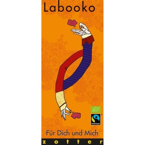 Zotter Bio Fairtrade Schokolade Labooko Für Dich und Mich 70g
