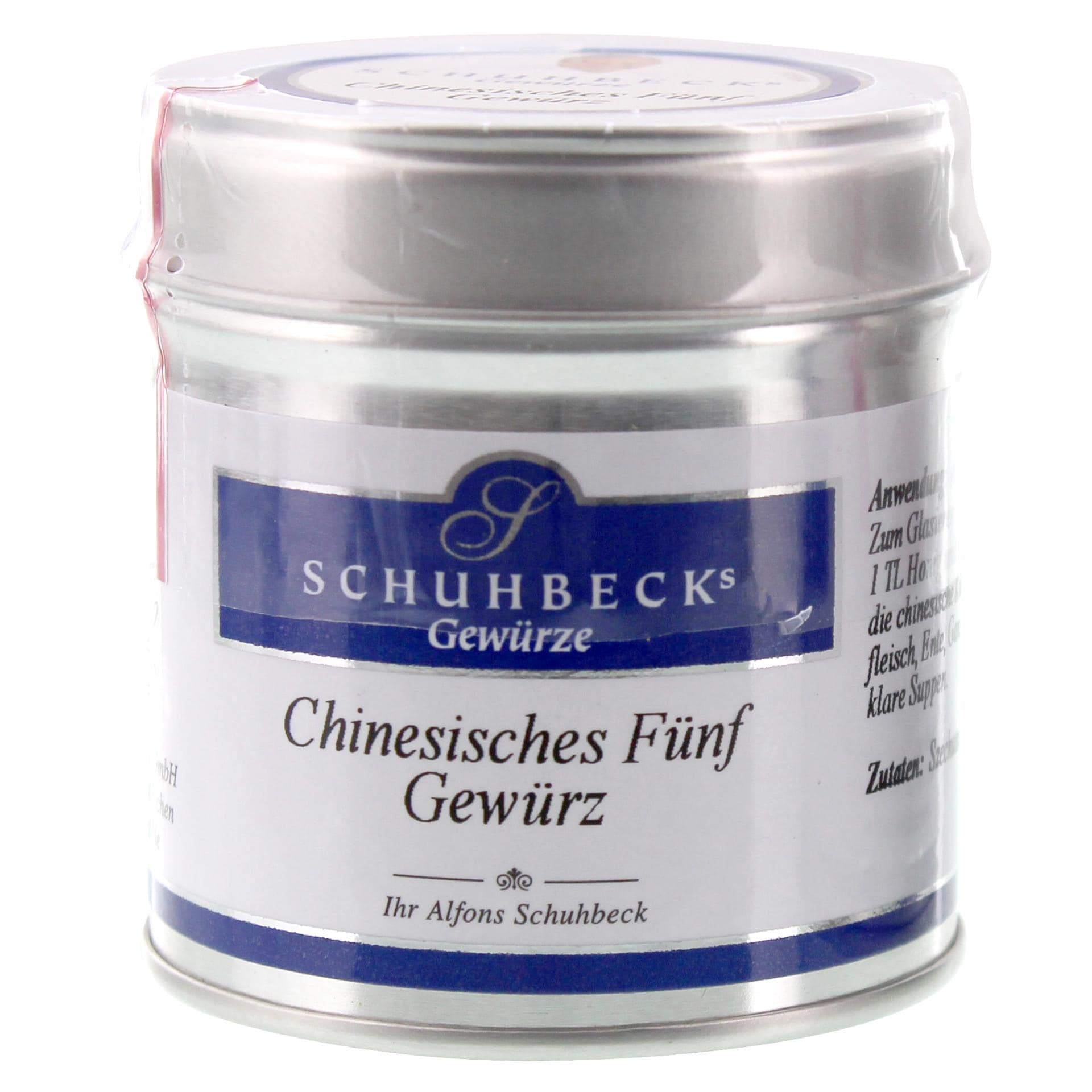 Schuhbecks - Chinesisches Fünf Gewürz - 45g