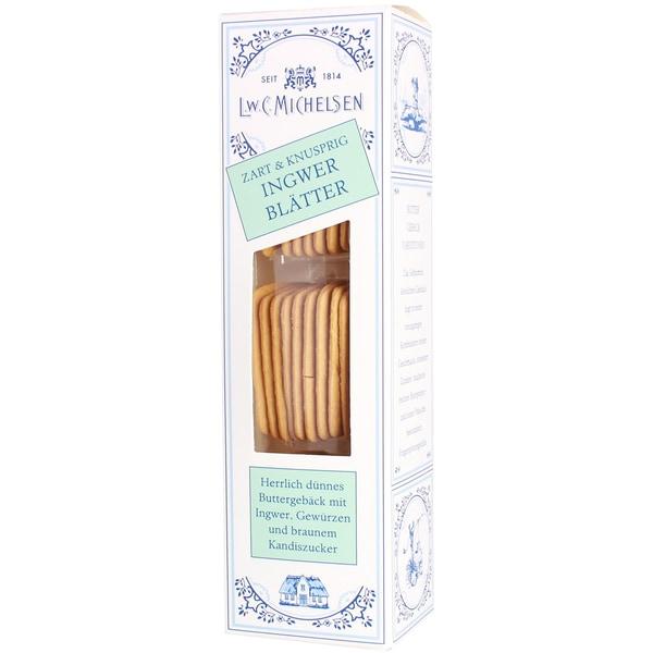 Michelsen - Butter-Ingwerblätter Gebäck - 100g