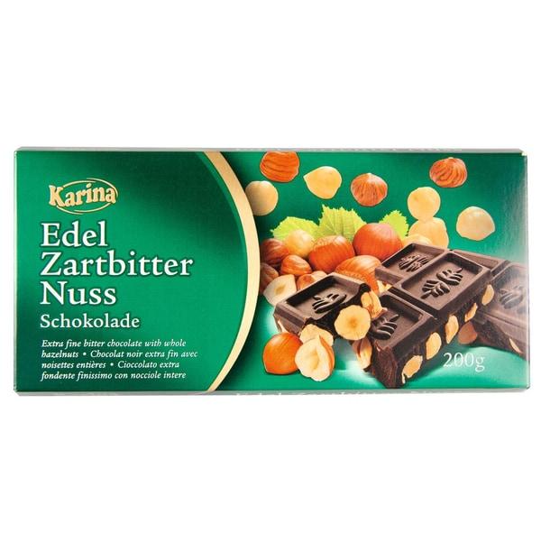 Karina Feinherb Nuss Schokolade 200g