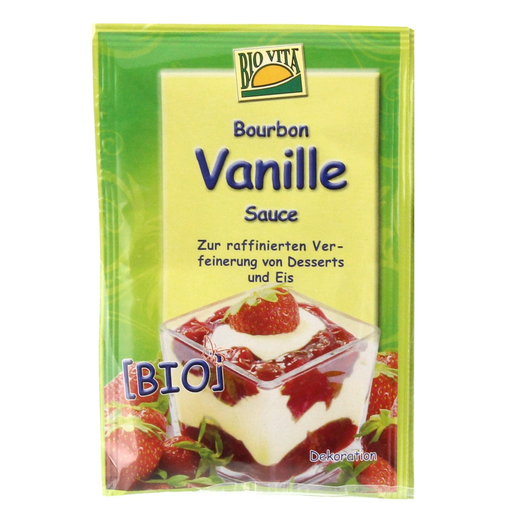 Biovita Bio Bourbon Vanille Sauce 2x9g