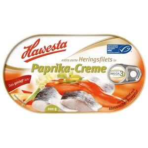 Hawesta Heringsfilet in Paprika-Creme 120g/200g