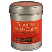 1001 Gewürze Frisches Minz-Curry Gewürzmischung 30g