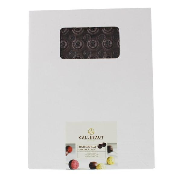 Callebaut - Trüffelhohlkugeln Dunkle Schokolade - 126St