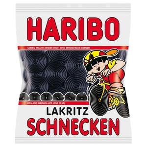 Haribo - Lakritz-Schnecken Weingummi - 1kg
