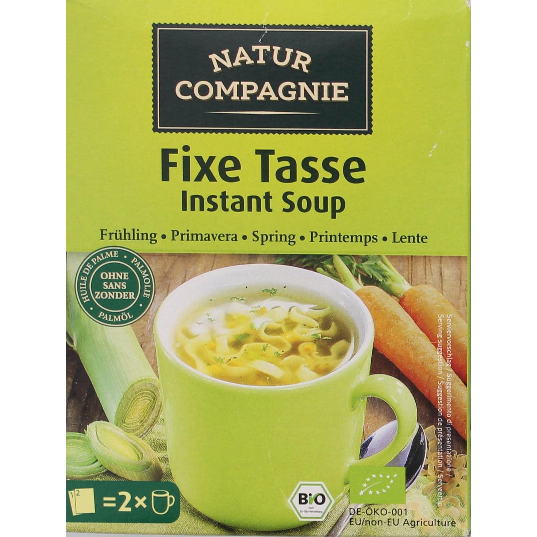 Natur Compagnie Bio Fixe Tasse Frühling 2er Nudelsuppe 34g