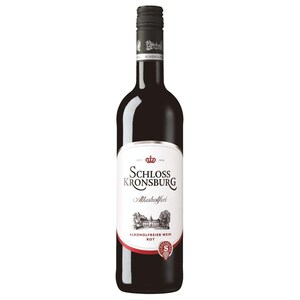 Schloss Kronsburg Rotwein mild alkoholfrei 0,75l