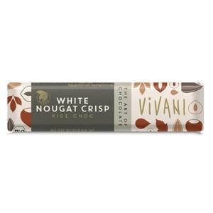 Vivani Bio White Nougat Crisp Schokolade 35g