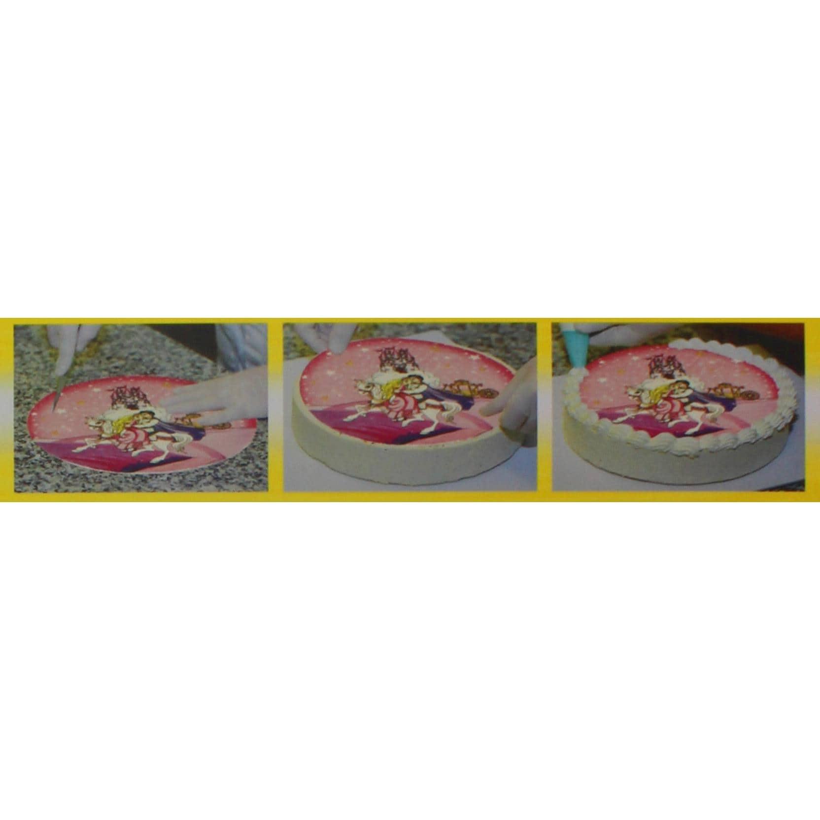 Günthart - Torten-Decke Motiv Prinzessin - 150g