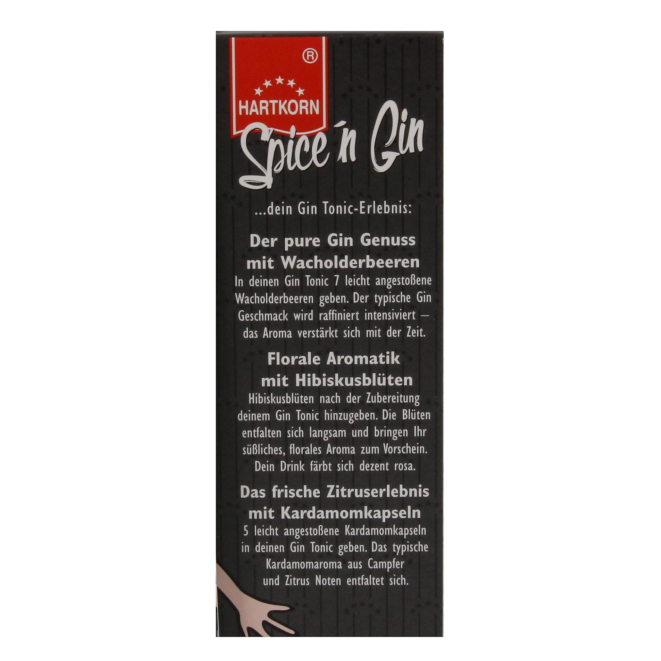Hartkorn - Spice'n Gin Botanicals Gewürze für Gin - 1St