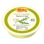 Tartex Bio Pâté Créme Rucola&Senf 75g