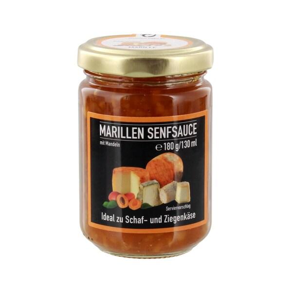 Marillen Senfsauce mit Mandeln 180g