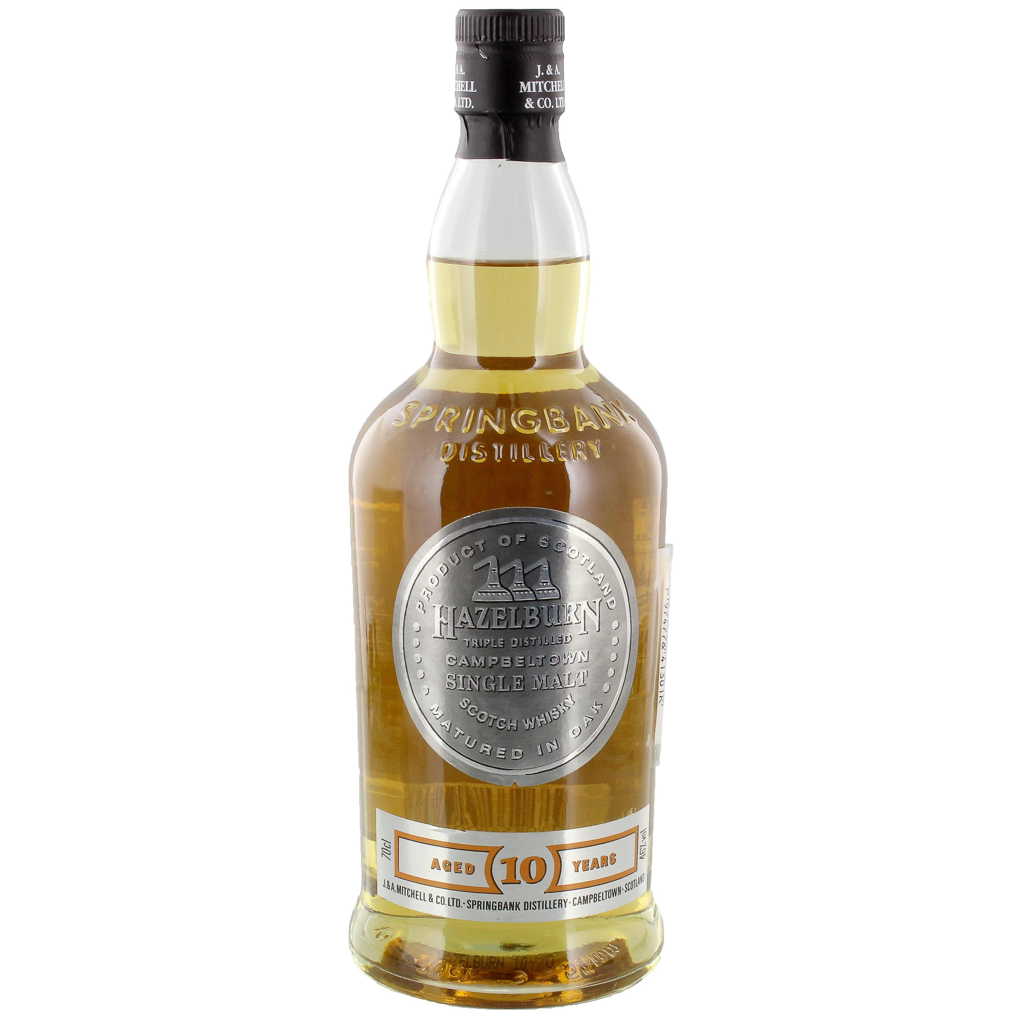 Hazelburn Campbeltown Single Malt Scotch Whisky 10 Jahre 0,7l