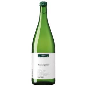 Heger Weißburgunder QbA Weißwein trocken Baden 13% 1,0l