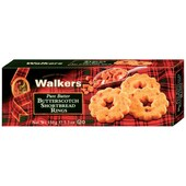 Walkers Butterscotch Shortbread Rings 150g