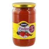 Sofko Pindjur Sauce pikante Paprika Gewürzmischung 720ml