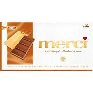 Merci - Edel-Nougat Tafelschokolade - 112g